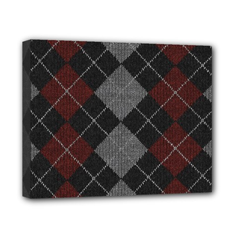 Wool Texture With Great Pattern Canvas 10  X 8