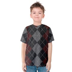 Wool Texture With Great Pattern Kids  Cotton Tee