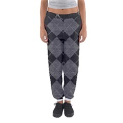 Wool Texture With Great Pattern Women s Jogger Sweatpants