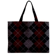 Wool Texture With Great Pattern Zipper Mini Tote Bag