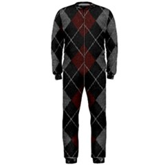 Wool Texture With Great Pattern Onepiece Jumpsuit (men)