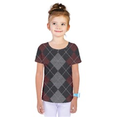 Wool Texture With Great Pattern Kids  One Piece Tee
