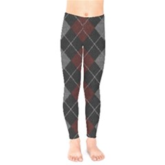 Wool Texture With Great Pattern Kids  Leggings
