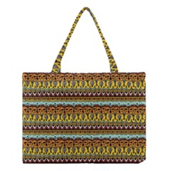 Bohemian Fabric Pattern Medium Tote Bag