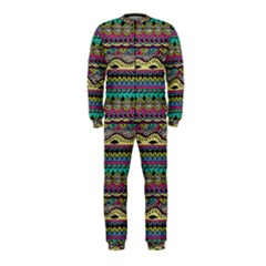 Aztec Pattern Cool Colors Onepiece Jumpsuit (kids)