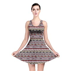 Aztec Pattern Patterns Reversible Skater Dress