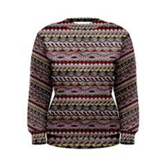 Aztec Pattern Patterns Women s Sweatshirt