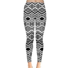 Aztec Design  Pattern Leggings
