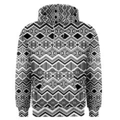 Aztec Design  Pattern Men s Pullover Hoodie