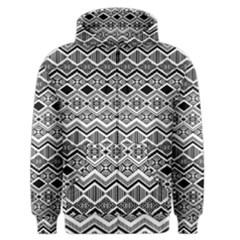 Aztec Design  Pattern Men s Zipper Hoodie