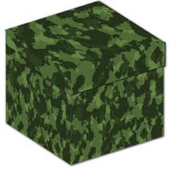 Camouflage Green Army Texture Storage Stool 12