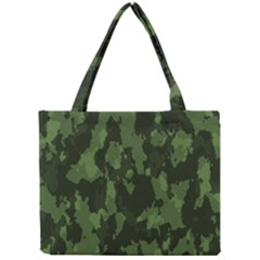 Camouflage Green Army Texture Mini Tote Bag