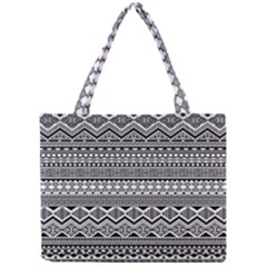 Aztec Pattern Design Mini Tote Bag