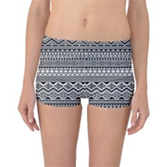 Aztec Pattern Design Boyleg Bikini Bottoms