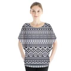 Aztec Pattern Design Blouse