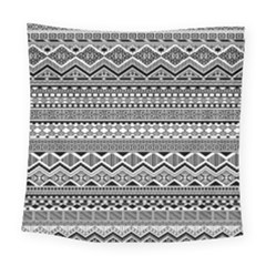 Aztec Pattern Design Square Tapestry (large)
