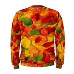Leaves Texture Men s Sweatshirt