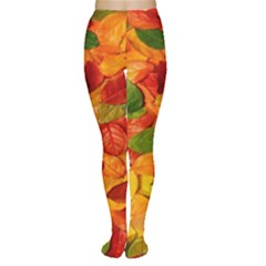 Leaves Texture Women s Tights