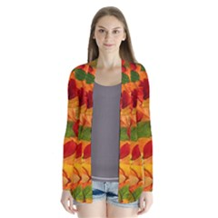 Leaves Texture Cardigans