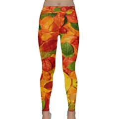 Leaves Texture Classic Yoga Leggings