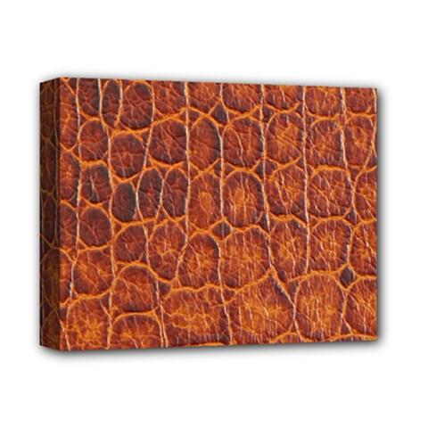 Crocodile Skin Texture Deluxe Canvas 14  x 11