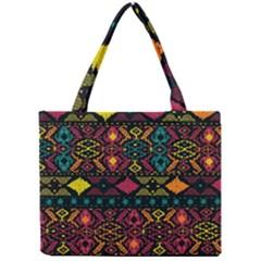 Bohemian Patterns Tribal Mini Tote Bag