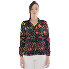 Bohemian Patterns Tribal Wind Breaker (Women)