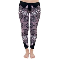Ornate mandala Classic Winter Leggings