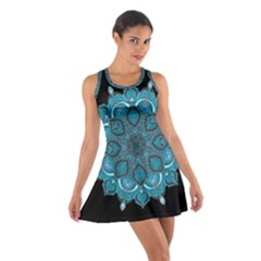 Ornate Mandala Cotton Racerback Dress