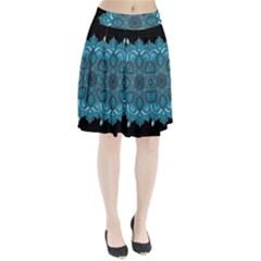 Ornate mandala Pleated Skirt