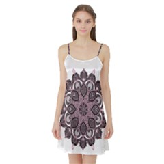 Ornate Mandala Satin Night Slip