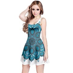 Ornate mandala Reversible Sleeveless Dress