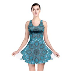 Ornate mandala Reversible Skater Dress