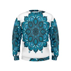 Ornate mandala Kids  Sweatshirt