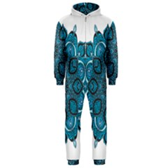 Ornate mandala Hooded Jumpsuit (Men)