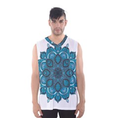 Ornate mandala Men s Basketball Tank Top