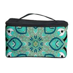 Ornate mandala Cosmetic Storage Case