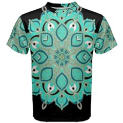 Ornate mandala Men s Cotton Tee