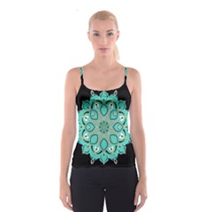 Ornate mandala Spaghetti Strap Top