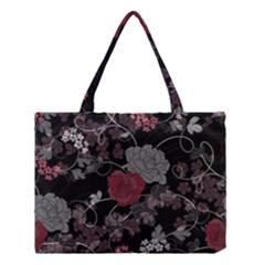 Sakura Rose Medium Tote Bag