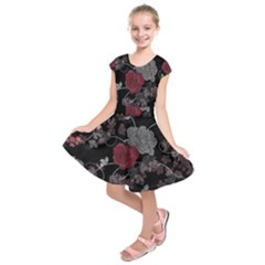 Sakura Rose Kids  Short Sleeve Dress