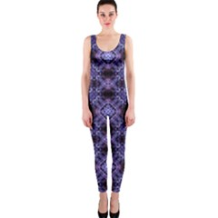 Lavender Moroccan Tilework  OnePiece Catsuit