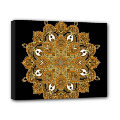 Ornate Mandala Canvas 10  X 8
