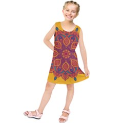 Ornate mandala Kids  Tunic Dress