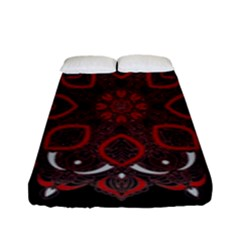 Ornate Mandala Fitted Sheet (full/ Double Size)