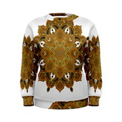 Ornate mandala Women s Sweatshirt