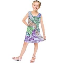 Zentangle Mix 1116c Kids  Tunic Dress