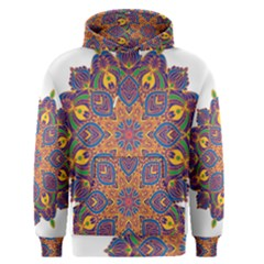 Ornate mandala Men s Pullover Hoodie