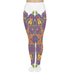 Ornate mandala Women s Tights