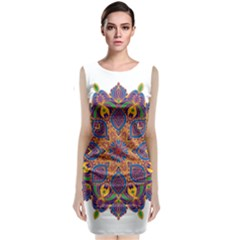 Ornate mandala Classic Sleeveless Midi Dress